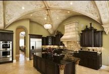 Kitchen- Remodel / I need to win a contest or something to make my cathedral room a great room with a great kitchen and loft library this board is just some ideas but need a designer : P  / by Kimberly~Ƹ̵̡Ӝ̵̨̄Ʒ~ Cozza