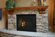 Fire Place and Mantels