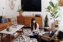 Eclectic Mid-Century Boho Dream Home