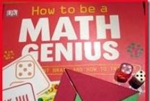 Math / Math for kids ages 6-10: Math games and math activities for elementary school students. / by Natalie Planet Smarty Pants