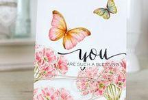 Cards - Butterflies...