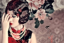 Vintage Asian beauty / i must have been a geisha... / by Tammy Hillyer