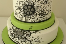 Inspiration -Contrast Cakes / by Samantha Mair-Donaldson