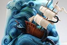 Inspiration -Nautical Cakes / by Samantha Mair-Donaldson