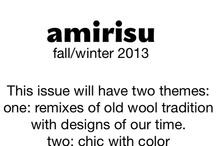 Fall/Winter Mood Board 2013 / 2013年秋冬号のイメージボード。デザイナーさん方へのインスピレーションとして、コレクションされています。