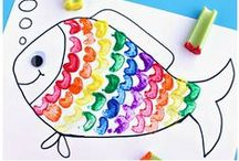 Preschool Arts and Crafts / Art activities for children under 5. Interesting projects to try together. Also check out my Process Art board. / by Natalie Planet Smarty Pants
