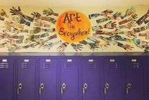 McDonald Middle School Art Department / A collection of student artworks--completed and in progress.