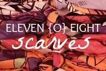 Accessories:  Scarves / Create the perfect look and tie together any look with a scarf.  Shop blanket scarves, infinity scarves and accessories.