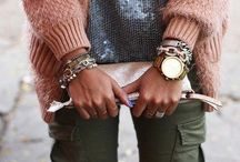 Jewelry:  MIX YOUR METALS / All things metallic, sparkly, gold, silver and more