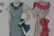 Aprons and Vintage Patterns / by Cretha Mathews