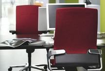 Wilkhahn red office furniture / Wilkhahn office furniture in red color