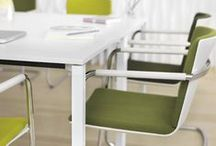 Wilkhahn green office furniture / Wilkhahn office furniture in green color