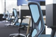 Wilkhahn blue office furniture / Wilkhahn office furniture in blue color