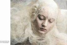 PAINTING FASHION / Inspiring editorials imitating paintings