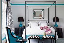 Master Bedroom Ideas / Seeking a soothing, chic modern bedroom / by Sandee J