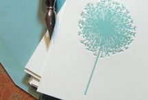 Note It / I always keep festive notes and papers around. When I think of someone, I write them a note! I keep up with birthdays and anniversaries. Staying in touch matters to me.  We make time for what matters! / by Jana Bertrand