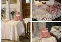 Romantic Christening by Fiona / The aim was to create a romantic feel with a vintage twist.