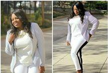 Plus Size Style / Plus size fashion pics showcasing stylish full figured women globally. / by Sandee J