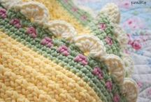 Crochet - Blanket / Bedspread / Throws / Afghans / by Nivethetha Sudhakar