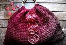 Crochet - Bags / Backpacks / by Nivethetha Sudhakar