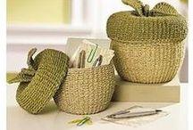 Crochet - Basket / Bowl / Box / by Nivethetha Sudhakar