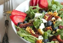 Salads, Pasta Salads, & Dressings / by Mary Lancaster