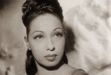 """Josephine Baker / Josephine Baker (June 3, 1906 – April 12, 1975) was an American-born French dancer, singer, and actress who came to be known in various circles as the """"Black Pearl,"""" """"Bronze Venus"""" and even the """"Creole Goddess"""". Born Freda Josephine McDonald in St. Louis, Missouri, Josephine later became a citizen of France in 1937. She was fluent in both English and French. She was the first African-American female to star in a major motion picture, Zouzou (1934) or to become a world-famous entertainer."""