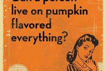 Everyone loves fall recipes!!  / Pumpkin and apple oh my! / by Kari Shuman-Balalioui