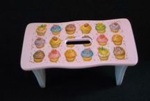 Hand made items for new baby and children by Fiona / Pretty and useful items for new babies and children.