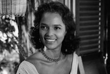 Dorothy Dandridge / Dorothy Dandrige (November 9, 1922, to September 8, 1965).  She was the first African American woman to be nominated for an Academy Award for best actress.