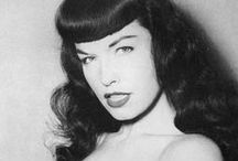 Bettie Page / Bettie Mae Page (April 22, 1923 – December 11, 2008) / by Merky
