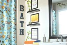 Big Girl Bed + Bath. / by Tara Pegg