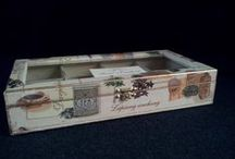 Tea Boxes by Fiona / Bespoke hand made tea boxes will turn having a simple cup of tea into a real pleasure.