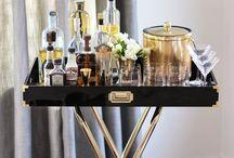 Bar carts / by Amanda Rose