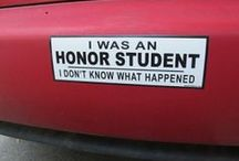 Funny Bumper Stickers / Bumper Stickers that'll make you laugh