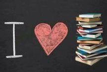 Books, Books,& More Books / by Emily Helene