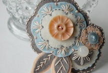 Fabric Flowers / by Tracy @3LittleBrds