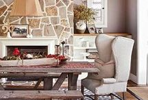 Decorating with Natural Elements / It's all about texture and a neutral palette