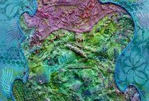 +Fiber Art - Textile Art+ / by Tina Hammock