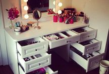 Makeup Storage / by Chantelle Moore