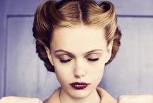 Eyes, nails, and hair...oh my! / Giving good face / by Ellen Murray
