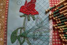 +Handmade laces+ / by Tina Hammock