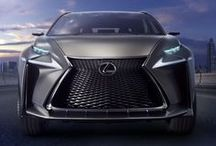 Crossover Distinction / The distinctive LF-NX Crossover concept explores the potential for a compact crossover within the Lexus model range.  / by Lexus International