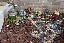 New Fairy Garden for summer of 2015 / by Krista Werner