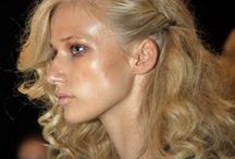 NYFW: S/S 2015 / Celebrity hairstylists Ric Pipino, Nathan Rosenkranz and Esther Langham led teams backstage at NYFW for the SS15 season at Georgine, Lela Rose and more.