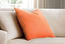 Places for Pillows / You can never have enough Pillows! Easily add this season's style with pillows from Sure Fit!