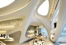 Interior architecture / Retail, office, home.