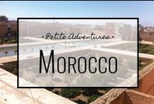 Morocco / For more travel tips, tales and info visit: https://petiteadventures.org/category/morocco/
