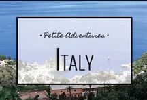 Italy / For more travel tips, tales and info visit: https://petiteadventures.org/category/italy/
