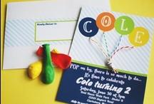 Balloon Party Ideas / by Libby Lane Press